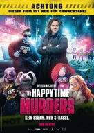 The Happytime Murders - German Movie Poster (xs thumbnail)