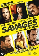Savages - Dutch DVD cover (xs thumbnail)