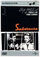 Saboteur - German DVD cover (xs thumbnail)