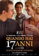Quand on a 17 ans - Italian Movie Poster (xs thumbnail)