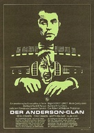 The Anderson Tapes - German Movie Poster (xs thumbnail)