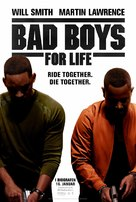 Bad Boys for Life - Danish Movie Poster (xs thumbnail)
