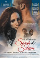 The Reports on Sarah and Saleem - Argentinian Movie Poster (xs thumbnail)