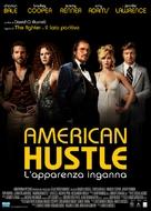 American Hustle - Italian Movie Poster (xs thumbnail)