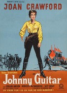 Johnny Guitar - Danish Movie Poster (xs thumbnail)