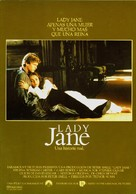 Lady Jane - Spanish Movie Poster (xs thumbnail)