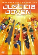 """Young Justice"" - Mexican DVD movie cover (xs thumbnail)"