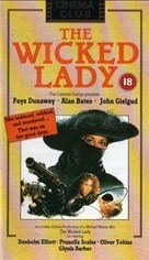 The Wicked Lady - British VHS cover (xs thumbnail)