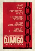Django Unchained - Teaser movie poster (xs thumbnail)