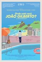 Where are you, Joao Gilberto? - Brazilian Movie Poster (xs thumbnail)