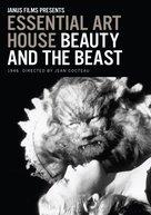 La belle et la bête - DVD movie cover (xs thumbnail)