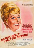 Billy Rose's Jumbo - French Movie Poster (xs thumbnail)