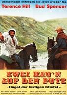 La collina degli stivali - German Movie Poster (xs thumbnail)