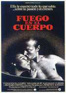 Body Heat - Spanish Movie Poster (xs thumbnail)