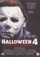 Halloween 4: The Return of Michael Myers - Dutch DVD cover (xs thumbnail)