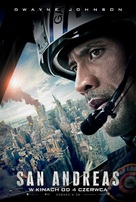 San Andreas - Polish Movie Poster (xs thumbnail)