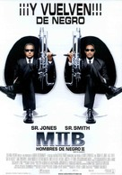 Men In Black II - Spanish Movie Poster (xs thumbnail)