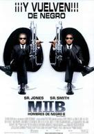 Men In Black II - Spanish Movie Poster (xs thumbnail)