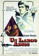 The Long Goodbye - Spanish Movie Poster (xs thumbnail)