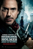 Sherlock Holmes: A Game of Shadows - Mexican Movie Poster (xs thumbnail)