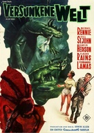 The Lost World - German Movie Poster (xs thumbnail)