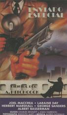 Foreign Correspondent - Spanish VHS movie cover (xs thumbnail)