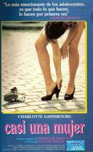 La petite voleuse - Argentinian VHS cover (xs thumbnail)