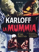 The Mummy - Italian DVD movie cover (xs thumbnail)