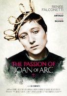 La passion de Jeanne d'Arc - Swedish Movie Poster (xs thumbnail)