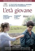 Le jeune Ahmed - Italian Movie Poster (xs thumbnail)