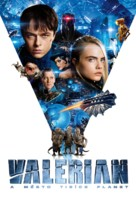 Valerian and the City of a Thousand Planets - Czech Movie Cover (xs thumbnail)