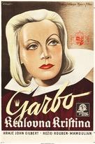 Queen Christina - Czech Movie Poster (xs thumbnail)