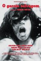 L'enfant sauvage - Brazilian Movie Poster (xs thumbnail)