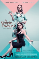 A Simple Favor - British Movie Poster (xs thumbnail)