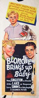 Blondie Brings Up Baby - Australian Movie Poster (xs thumbnail)