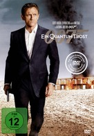 Quantum of Solace - German DVD cover (xs thumbnail)