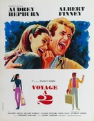 Two for the Road - French Movie Poster (xs thumbnail)