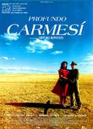 Profundo carmesí - Spanish Movie Poster (xs thumbnail)