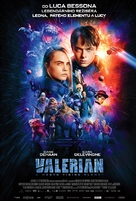 Valerian and the City of a Thousand Planets - Czech Movie Poster (xs thumbnail)
