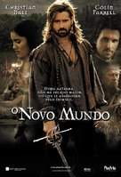 The New World - Brazilian poster (xs thumbnail)