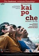 Kai Po Che - Indian Movie Poster (xs thumbnail)