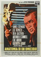 Anatomy of a Murder - Italian Movie Poster (xs thumbnail)