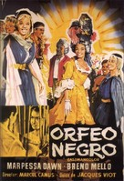 Orfeu Negro - Spanish Movie Poster (xs thumbnail)