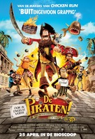 The Pirates! Band of Misfits - Dutch Movie Poster (xs thumbnail)
