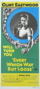 Every Which Way But Loose - Australian Movie Poster (xs thumbnail)