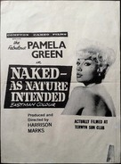 Naked as Nature Intended - New Zealand Movie Poster (xs thumbnail)