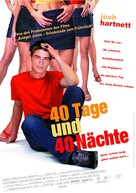 40 Days and 40 Nights - German Movie Poster (xs thumbnail)