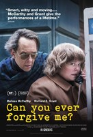 Can You Ever Forgive Me? - British Movie Poster (xs thumbnail)