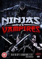 Ninjas vs. Vampires - British DVD cover (xs thumbnail)