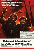 Away All Boats - German Movie Poster (xs thumbnail)